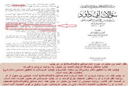 شاهدی بر نقل متفاوت از نظر احمد بن حنبل در مورد امام صادق (علیهالسلام)