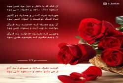وصف مولا علی (ع) در کلام مولای رومی - حضرت علی - مولوی - مولانا