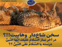 تفاوت تشهد و سلام نماز اهل سنت با وهابیت