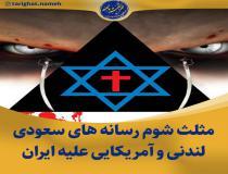مثلث شوم رسانه های سعودی، لندنی و آمریکایی علیه انتخابات ایران
